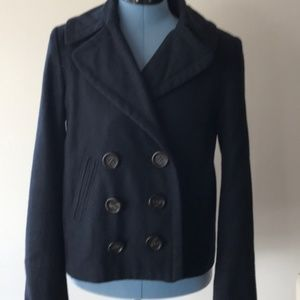 Forever 21 Navy  Double Breasted  Short  Pea-coat